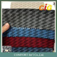 220GSM Auto Upholstery Fabric  / 100% Polyester Jacquard Car Seat  Fabric Manufactures