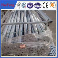 Hot dipped galvanized steel anchors for solar mounting/ ground screw pole anchor Manufactures