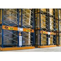 Warehouse Storage Industrial Racking Systems Semi Automatic Electrical Mobile  Type Manufactures