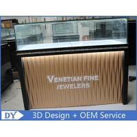 Quality Custom Modern Design Glass Jewellery Shop Display Counters for sale