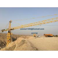 Quality TC6518 Kind of Tower Cranes Remote Control Max. Load 10T Building Material for sale