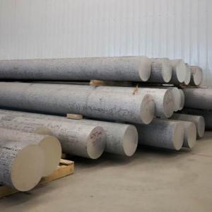AZ31B magnesium alloy cast billet AZ61A cast rod AZ80A bar M1A ZK60A cast bar block diameter 90-600mm High strrength Manufactures
