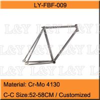 700C Cr-Mo Lugs Track Bicycle Frame Manufactures