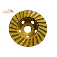 "4"" - 9"" Diamond Cup Wheels Grinding Concrete , Smooth Grinding Diamond Cut Off Wheels Manufactures"