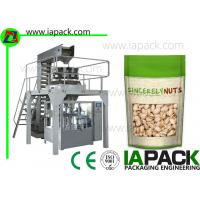 China Laminated Film Premade Pouch Filling Sealing Machine With Zipper on sale
