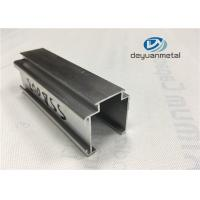 Customized Curtain Wall Aluminium Construction Profiles Length 5.85m Temper T3 - T8 Manufactures