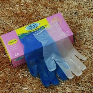 China Disposable vinyl gloves/vinyl powder free gloves/CE/FDA on sale