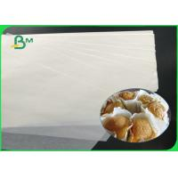 China 100% Safe FDA Food Grade 33 - 38gsm White Cupcake Liner Paper Sheet For Cakes on sale