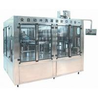 High Efficiency Pure Water Filling Machine For Plastic Bottle 1.5KW - 4.5KW Power Manufactures
