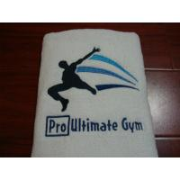 100pcs custom embroidery logo sport/gym/golf hand towel face towel Manufactures