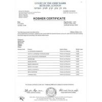 Hubei XinRunde Chemical Co., Ltd Certifications