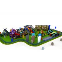Customized Childrens Indoor Play Equipment With Stainless Steel 304 And Galvanized Material Manufactures