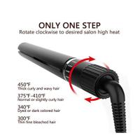 Meraif Flat Iron for Hair Professional 2 in 1 Ceramic Hair Straightener Flat Iron with Rotating Adjustable Temperature Manufactures