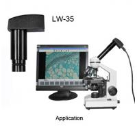 LW-35 0.35M pixel microscope camera electronic eyepiece Manufactures