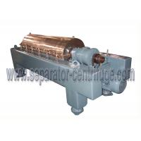 China Peanut Skin Dewatering Decanter Centrifuge , High Speed Centrifuge Full Automatic on sale