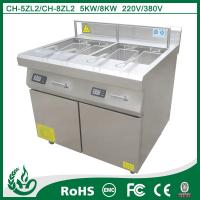 Commercial For Easy Clean Outdoor Electric Deep Fryer with 8kw Manufactures