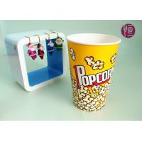 46oz Top120mm Disposable Paper Popcorn Buckets 1275ml Volume BRC FDA Manufactures