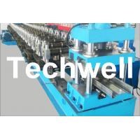 16 Steps Forming Station Sigma Purlin Roll Forming Machine With 4mm Thickness Manufactures