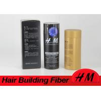 30g Hair Powder Instant Hair Thickening Fiber Make Private Brand OEM Black Brown Blonde Manufactures