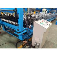 China Custom Automatic Roof Panel Roll Forming Machine For Sheet Metal Roofing on sale
