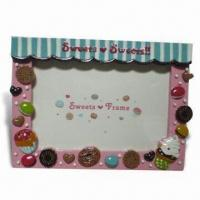Hand-painted Polyresin Photo Frame Manufactures