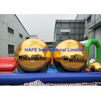 Single Color Printing Inflatable Mirror Balloon 2.5m Sphere Tube With Branding Logo Manufactures