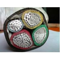 China 4 core 95mm  xlpe insulated aluminum conductor power cable price list on sale
