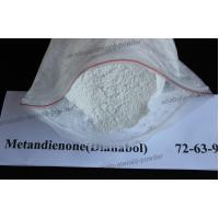 Medical Steroids White Raw Powder Dianabol / Dbol CAS 72-63-9 For Bodybuliding Manufactures