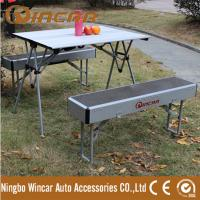 Heavy duty foldable picnic camping table with 2 benches Manufactures