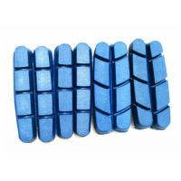 China Shimano / Campy Carbon Bike Parts Blue Rubber Road Bike Brake Pads V Brake on sale