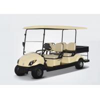 EQ9042(C1)48V 4KW 4 seats electric utility golf cart container turf car Manufactures