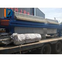 870 type Separation Dewatering Filter Press  / Membrane Filter Press Used in construction site Manufactures