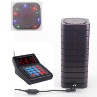 Quality New arrival light flashing wireless guest pager system for sale