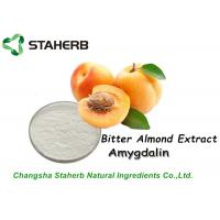 Anticancer Natural Bitter Almond Extract Amygdalin B17 Vitamin 50%-98% Seed Extraction Manufactures