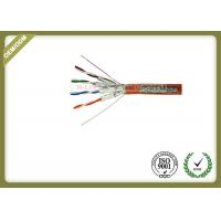 SFTP Cat7 Lan Cable 23AWG Bare Copper 1000Ft 305M per Reel with Grey Jacket  or Customized colour Manufactures