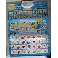 China Plastic ABS Board Arabic Alphabet Chart and Paper Preschool Children Education learning on sale