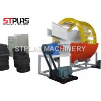 China Car / Truck Waste Tyre Shredding Machine For Rubber Recycling High Efficient on sale