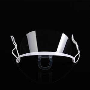 Spittle Prevention Transparent Plastic Face Mask For Dental Manufactures
