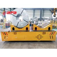 Environmental Steering V - Groove Deck Cylinder Trackless Transfer Cart 0 - 20m / Min Running Speed Manufactures