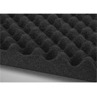 Wavy Foam Car Vibration Damping Acoustic Foam Sheets 20mm OEM Acceptable Manufactures