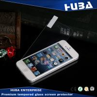 Bubble free 9H Color iPhone 5 Tempered Glass Protector Anti - fringerprint Manufactures