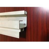 China Anodized / Powder Coated Aluminium Channel Profiles Aluminum Structural Framing on sale
