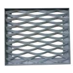 Customizable Expanded Aluminum Mesh , Aluminium Diamond Mesh For Building Facade Manufactures