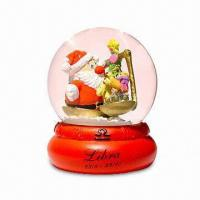 Polyresin Snow Globe, Ideal for Promotions Manufactures