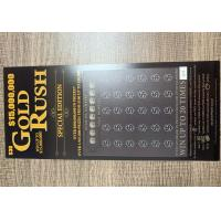 High Quality Scratch Card Printing Lucky Card Scratch Off Lottery Tickets Manufactures