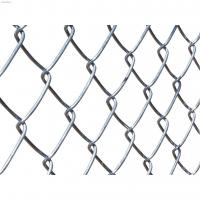 Hot Dipped Galvanized Custom Wire Mesh Easily Assembled Chain Link Fence For Sports Field Manufactures