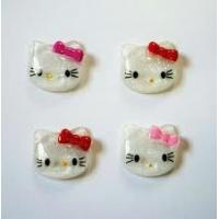 Nail art  Lovely hello kitty Resin sticker decoration for Nail, mobile phone, fridge Manufactures