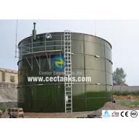 Glass Fused Steel Tanks , Bolted Steel Water Storage Tanks For Farm Manufactures