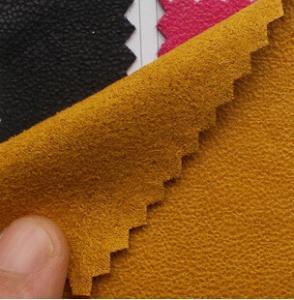 Plain coloured faux suede Manufactures