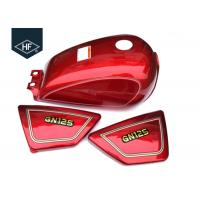 Standard Size GN125 Other Motorcycle Parts Custom Color Iron 9L Motorcycle Fuel Tank Manufactures